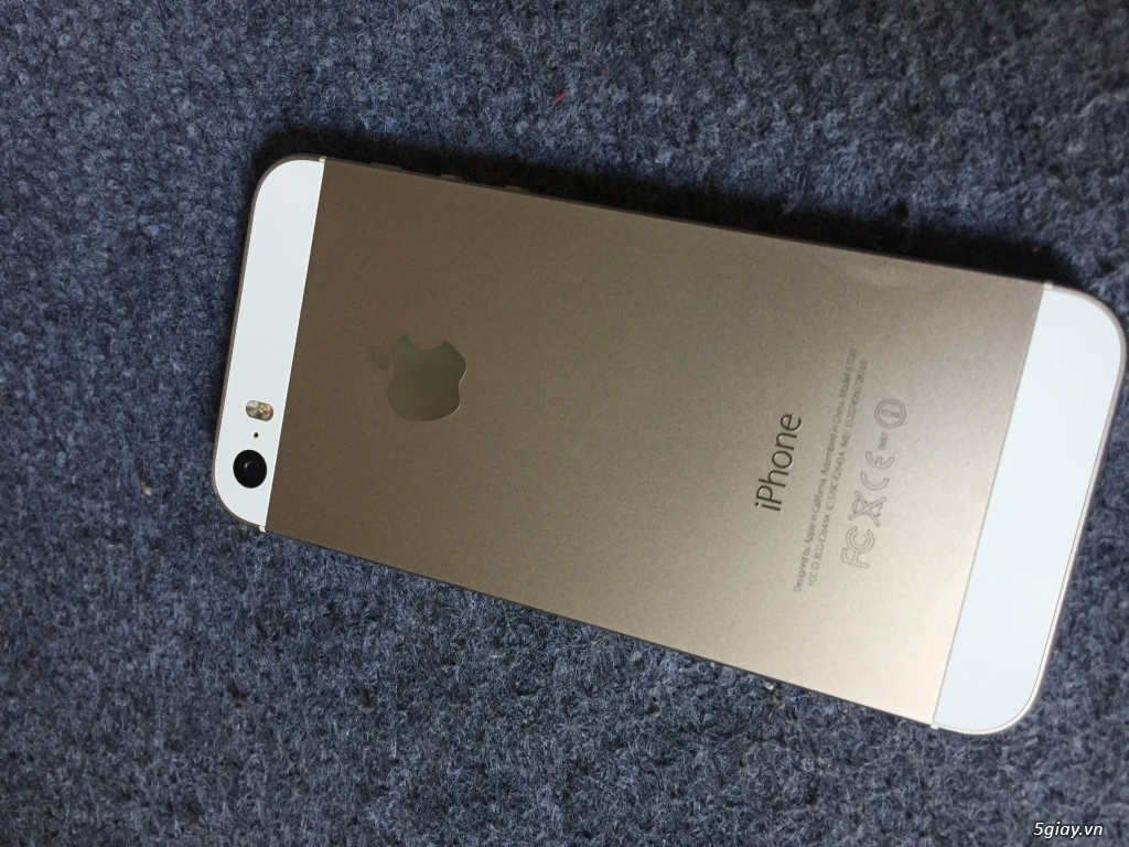 Bán iPhone 5s 32G Gold - 4