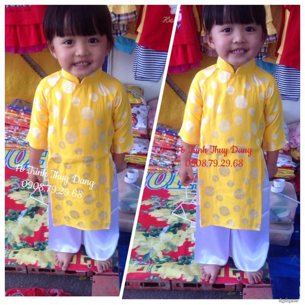Áo dài truyền thống trẻ em , phục trang văn nghệ thiếu nhi tại tphcm . - 4