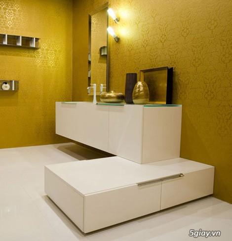 Bộ tủ Lavabo cao cấp được thiết kế đẹp, kiểu dáng hiện đại. - 6