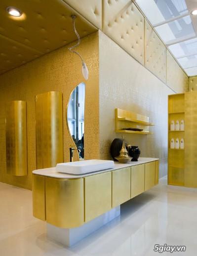 Bộ tủ Lavabo cao cấp được thiết kế đẹp, kiểu dáng hiện đại. - 2