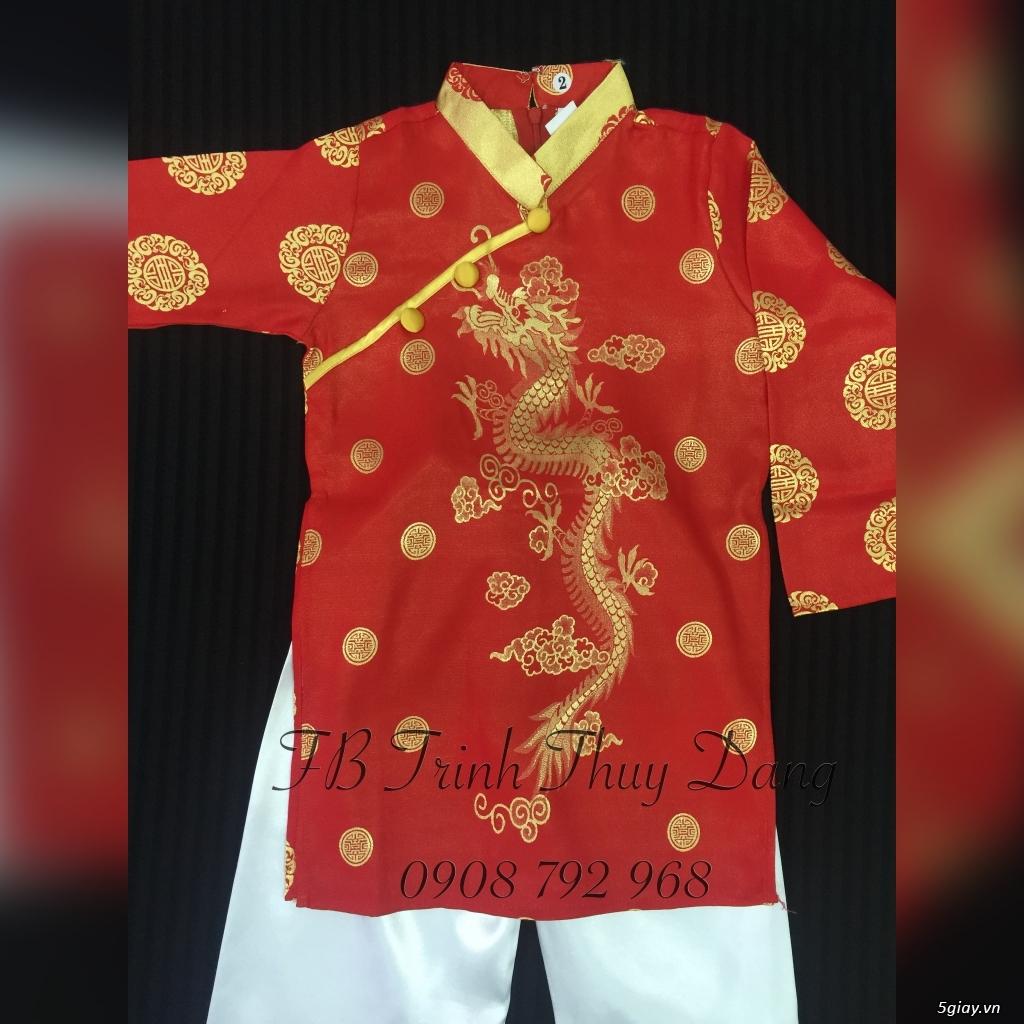 Áo dài truyền thống trẻ em , phục trang văn nghệ thiếu nhi tại tphcm . - 3