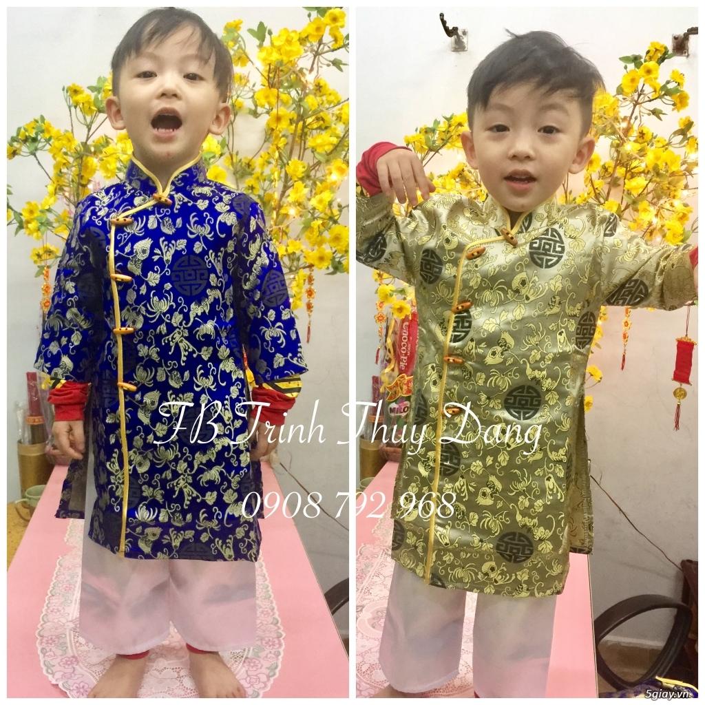 Áo dài truyền thống trẻ em , phục trang văn nghệ thiếu nhi tại tphcm . - 1