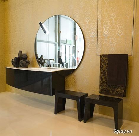 Bộ tủ Lavabo cao cấp được thiết kế đẹp, kiểu dáng hiện đại. - 4
