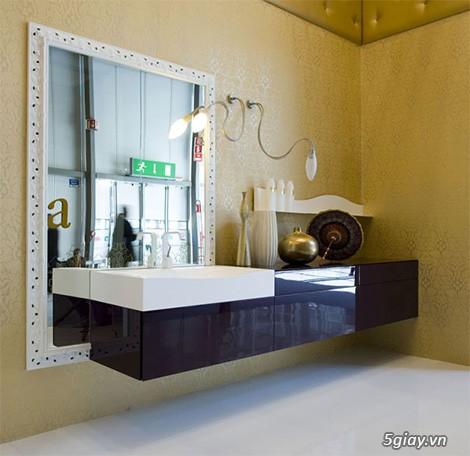 Bộ tủ Lavabo cao cấp được thiết kế đẹp, kiểu dáng hiện đại. - 8