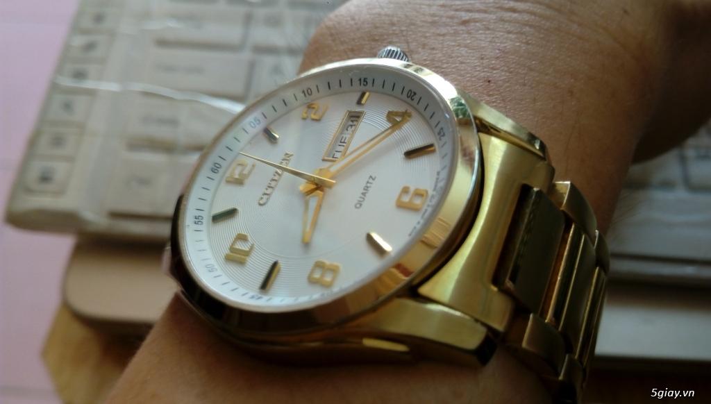 Đồng hồ chính hãng của Mỹ dư xài máy pin Quazt , máy tự động Automatic - 32
