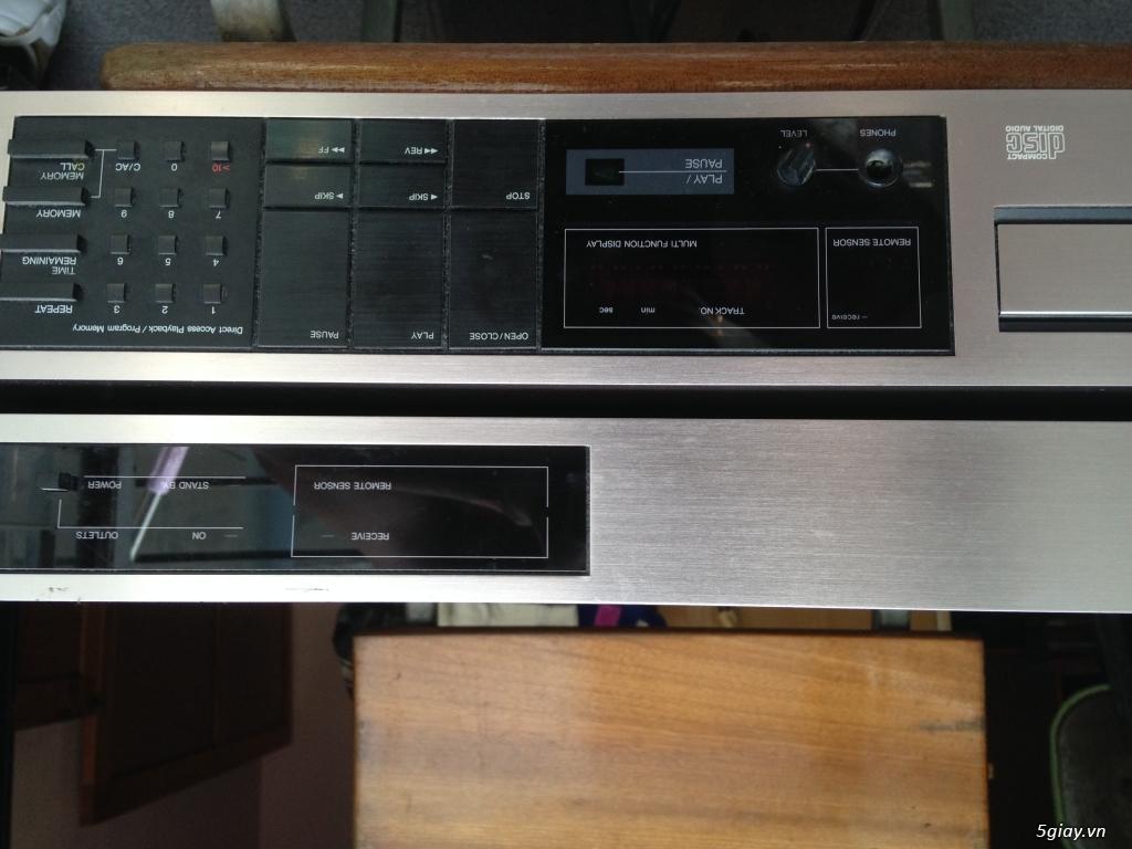 Ban dau CDPlayer Kyocera DA-610cx + remote control center ... - 1