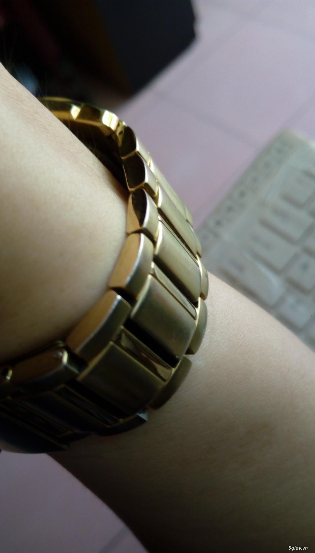 Đồng hồ chính hãng của Mỹ dư xài máy pin Quazt , máy tự động Automatic - 36