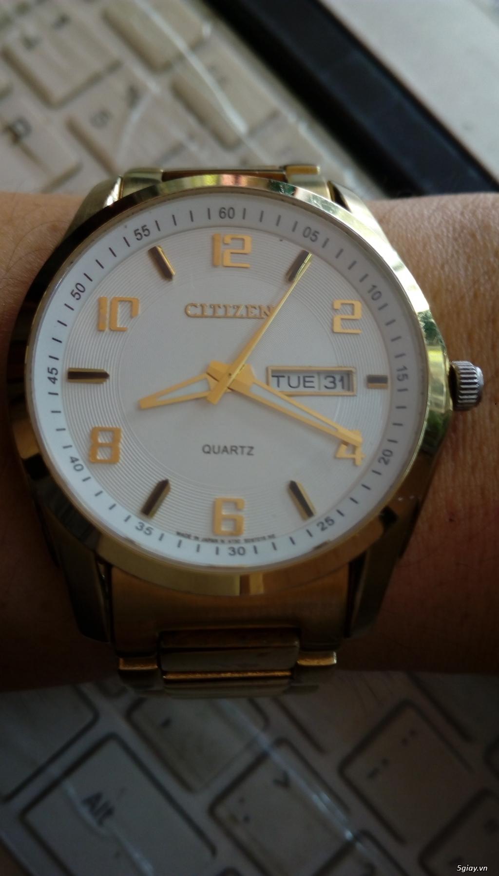 Đồng hồ chính hãng của Mỹ dư xài máy pin Quazt , máy tự động Automatic - 34