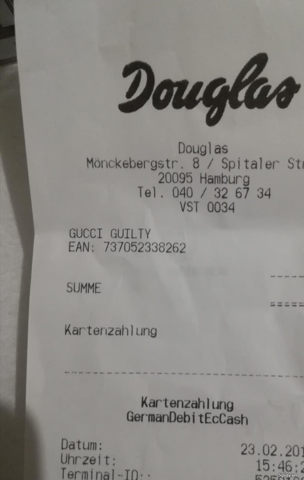 Nước hoa GUC CI GUILTY mua trong store Germany 100% giá rẻ - 3