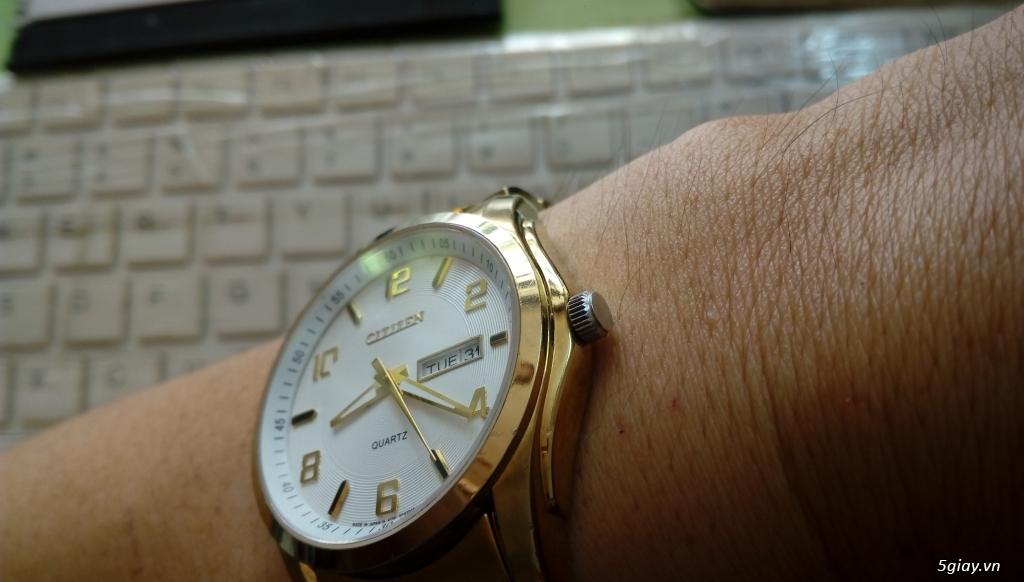 Đồng hồ chính hãng của Mỹ dư xài máy pin Quazt , máy tự động Automatic - 33