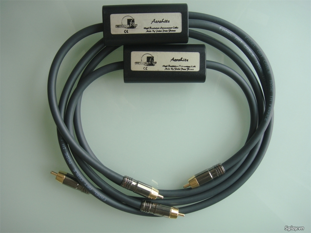-Bộ dây loa High End Fadel Art The Stream Flex Plus SINGLE-WIRE /WBT-0 - 26
