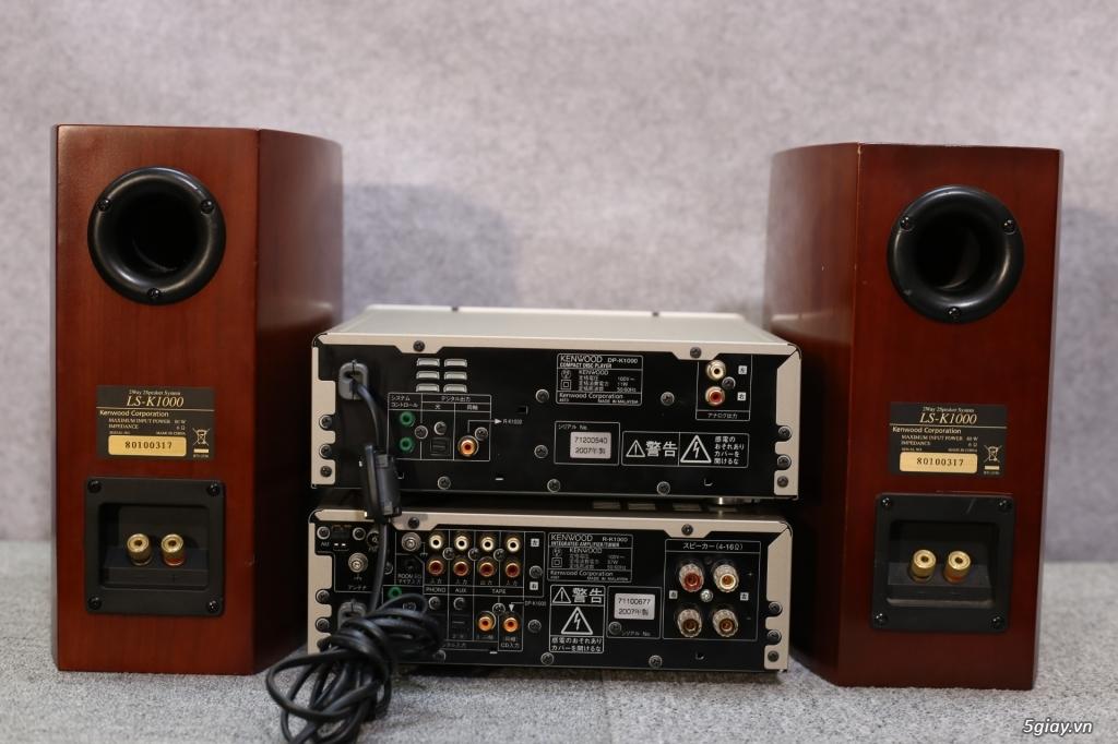 Đầu máy nghe nhạc MINI Nhật đủ các hiệu: Denon, Onkyo, Pioneer, Sony, Sansui, Kenwood - 8