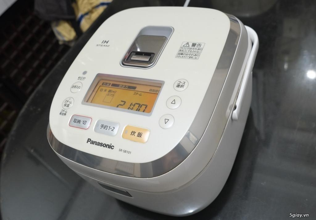 Máy lọc không khí - Nồi cơm IH - Quạt cổ - Tủ lạnh nội địa Nhật