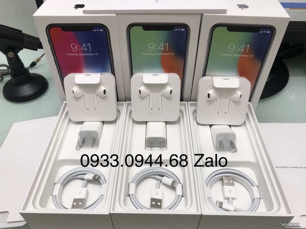 iPhone X 256GB Quốc Tế LL new 98% Leng Keng - 4
