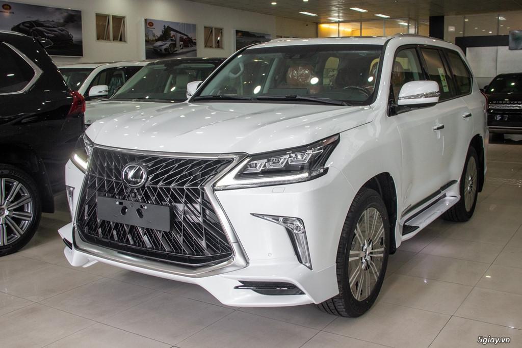 Chi tiết Lexus LX570 Super Sport giá gần 10 tỷ đồng
