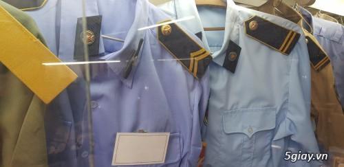 Chuyen may do va cung cap Dong phuc an ninh bao ve Phu hieu cap hieu Giay mu cravat cac loai