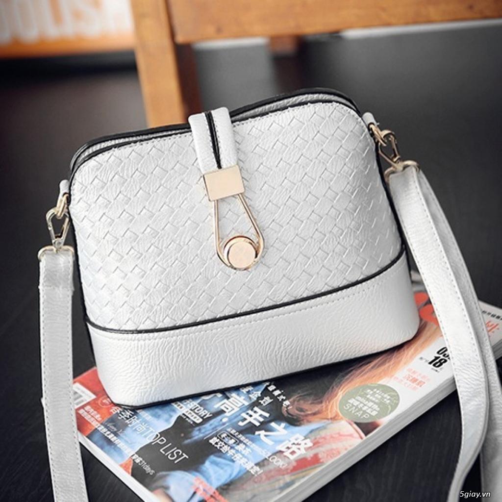 Túi da đan thời trang mới giá 99K - 3