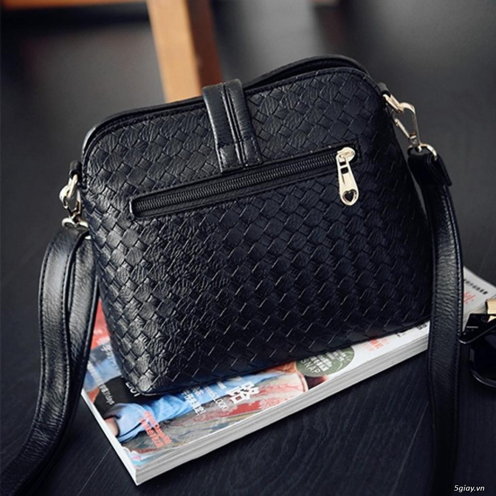 Túi da đan thời trang mới giá 99K