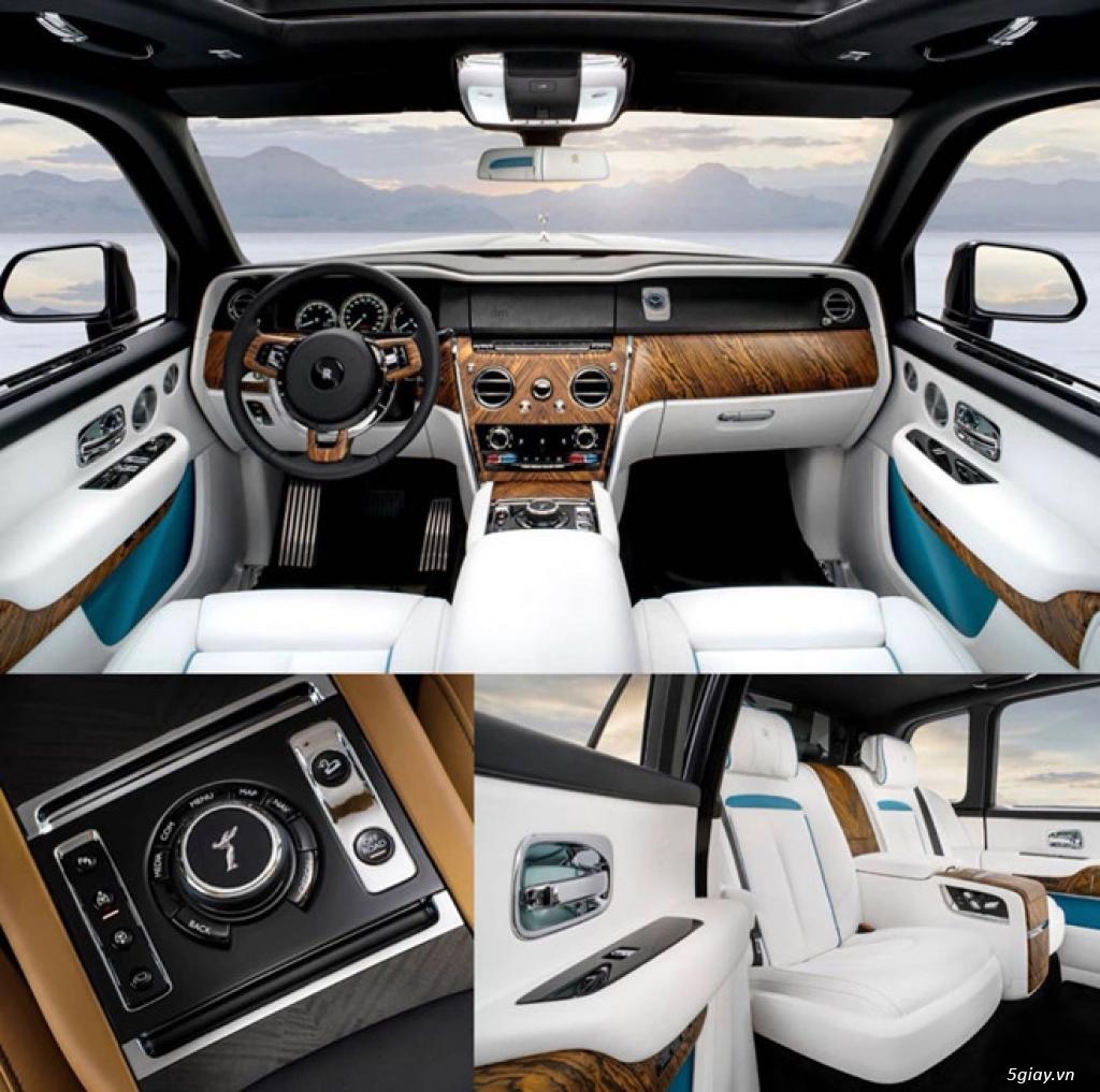 Rolls-Royce Cullinan - SUV siêu sang lộ diện trước giờ ra mắt - 1