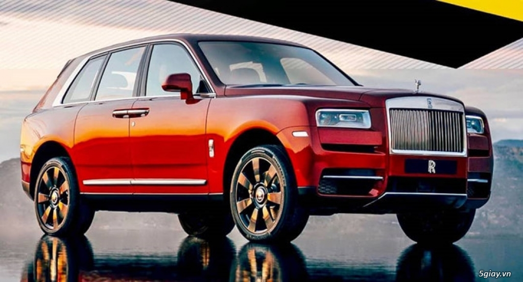 Rolls-Royce Cullinan - SUV siêu sang lộ diện trước giờ ra mắt