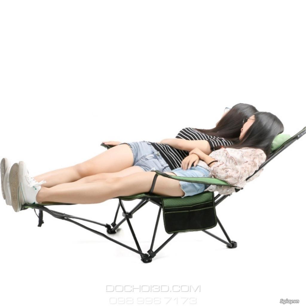 Ghế Xếp Du Lịch Đa Năng - Nằm Ngồi Thoải Mái Như Sofa Ở Nhà - 2