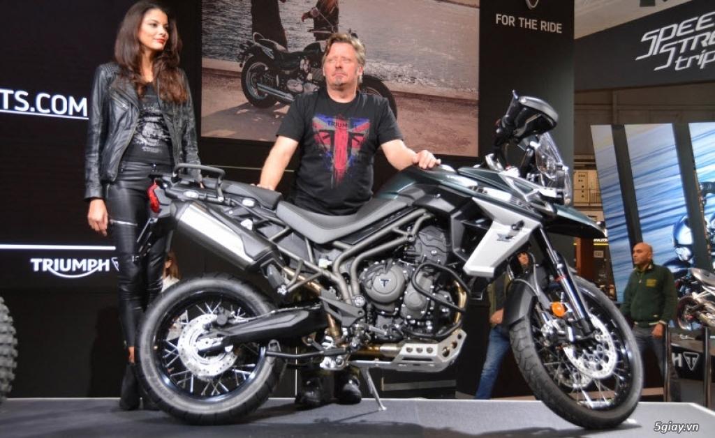Triumph Tiger 800 2018 thiết kế vận hành có gì mới?