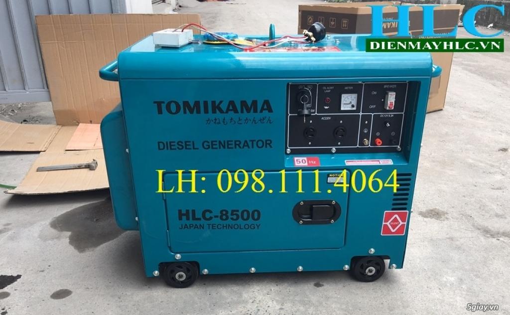Máy phát điện chạy dầu Tomikama chống ồn