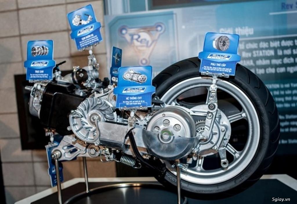 Sự thật về công nghệ động cơ Yamaha Blue Core