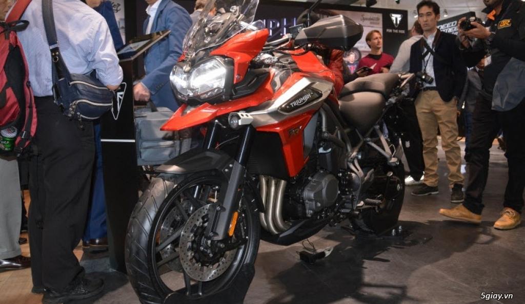 Đánh giá xe Triumph Tiger 1200 2018