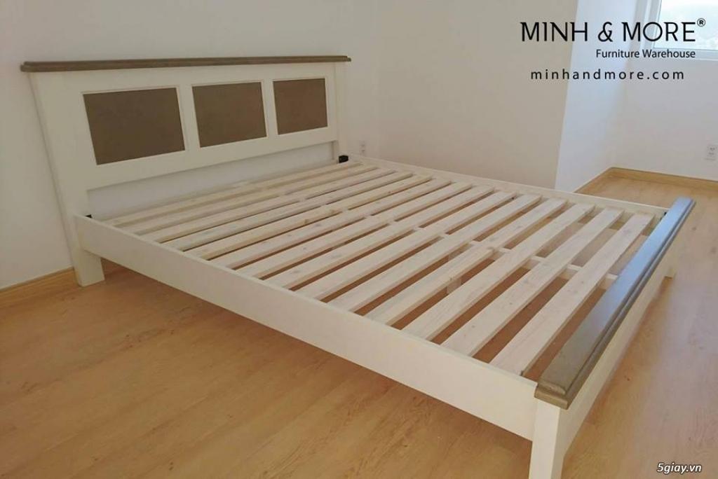 Giường gỗ thông MMP04 - 2
