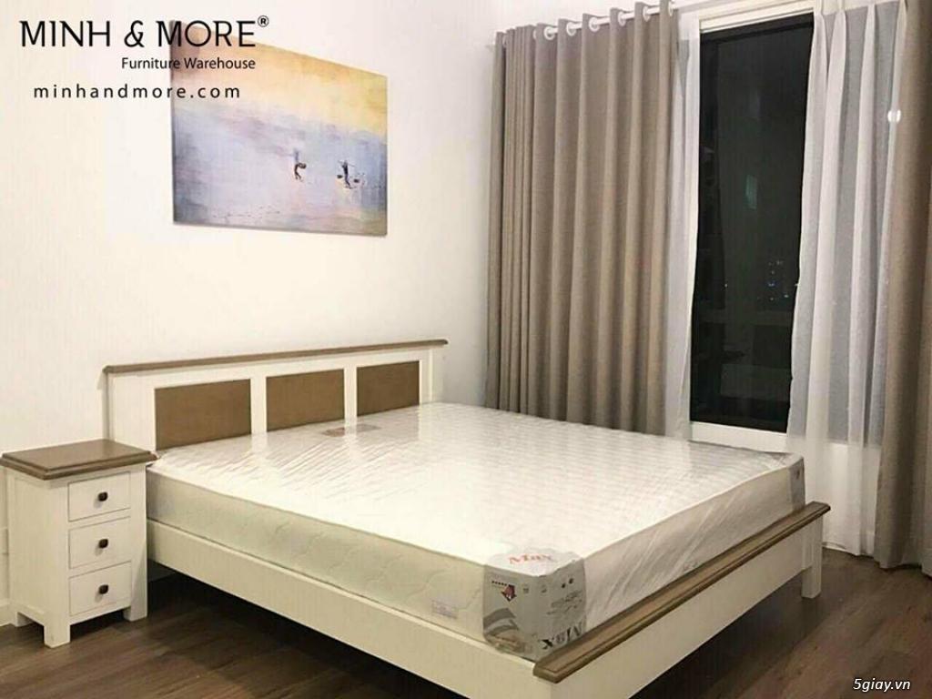Giường gỗ thông MMP04