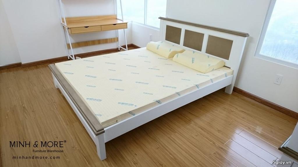 Giường gỗ thông MMP04 - 1