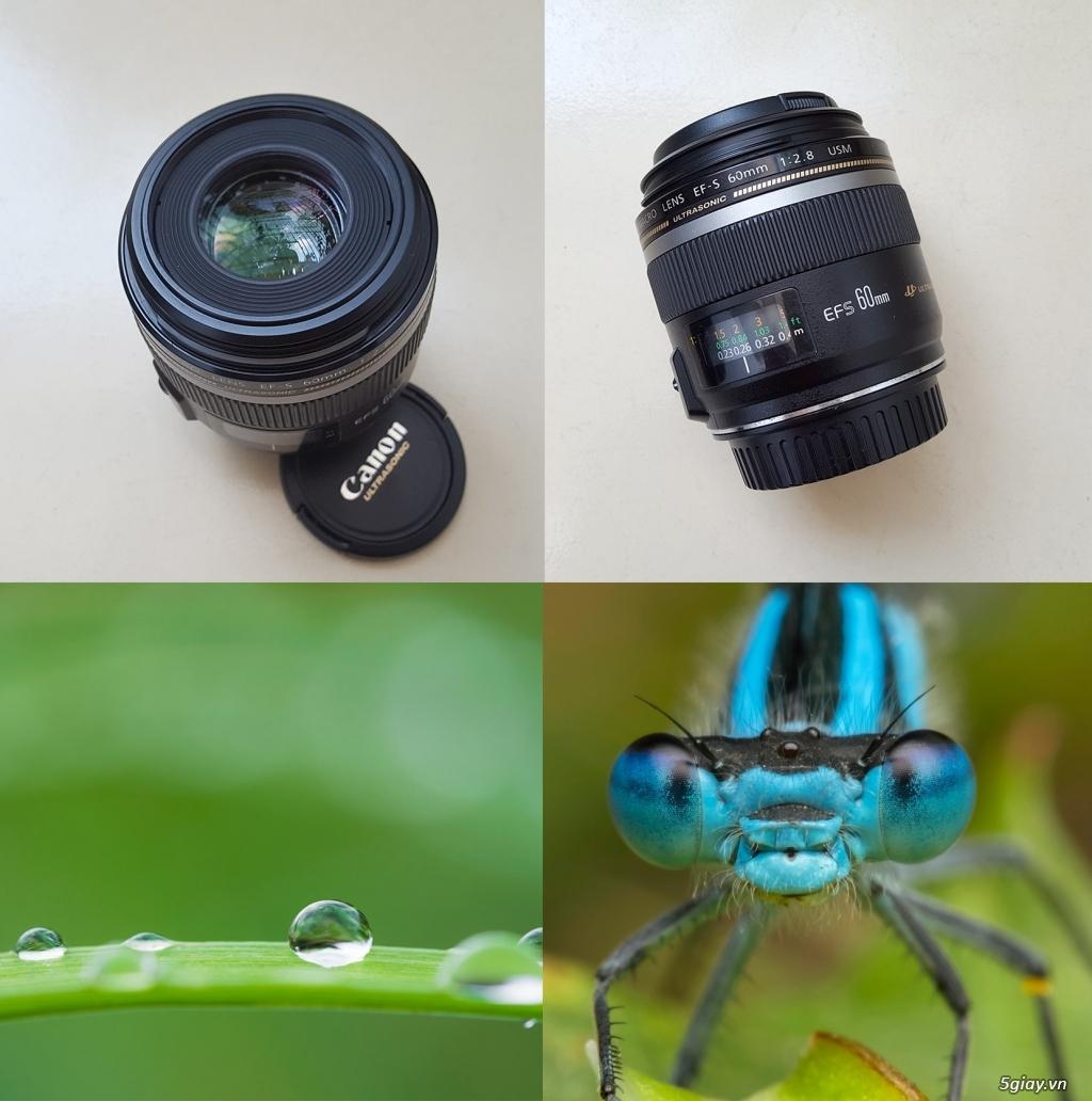 HCM-Bán Lens AF Canon 60/2.8 Macro USM