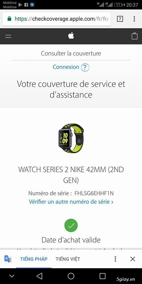 APPLE WATCH 42'' GEN 2 Series 2 Nike+ likenew !!