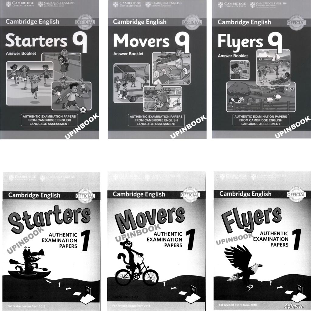 Sách luyện thi Starters, Movers, Flyers, Ket, Pet (photo màu) bán lẻ giá sỉ - 2