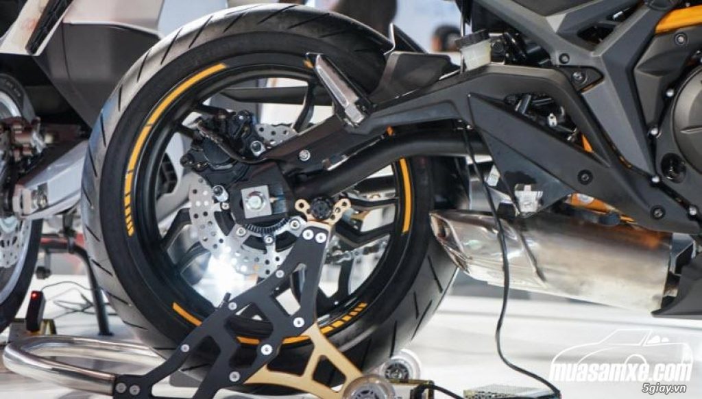 Kymco K-Rider 400 2018 -  Đánh giá hình ảnh & thông số kỹ thuật - 4