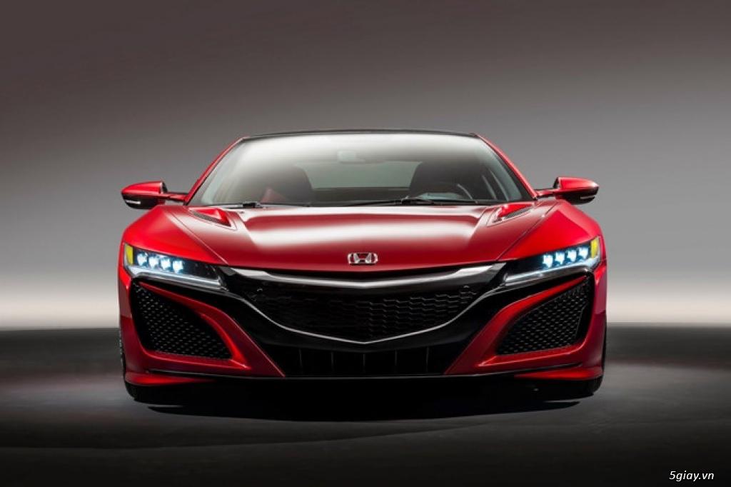 Honda Acura NSX Type R đang được 'hình thành'