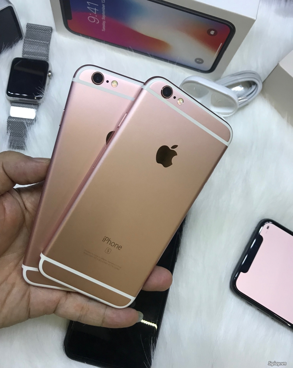 iPhone 6s 16-64gb màu hường - 1