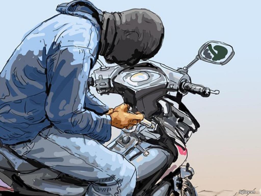 7 cách chống trộm đơn giản cho xe máy - 3