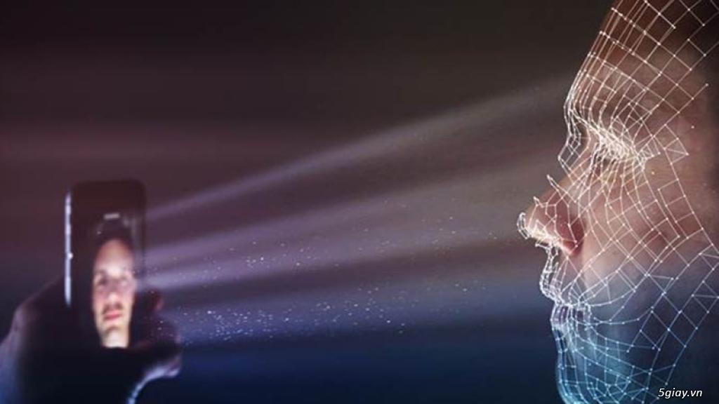 Apple dùng công nghệ quét tĩnh mạch trên khuôn mặt trong bảo mật sinh trắc học