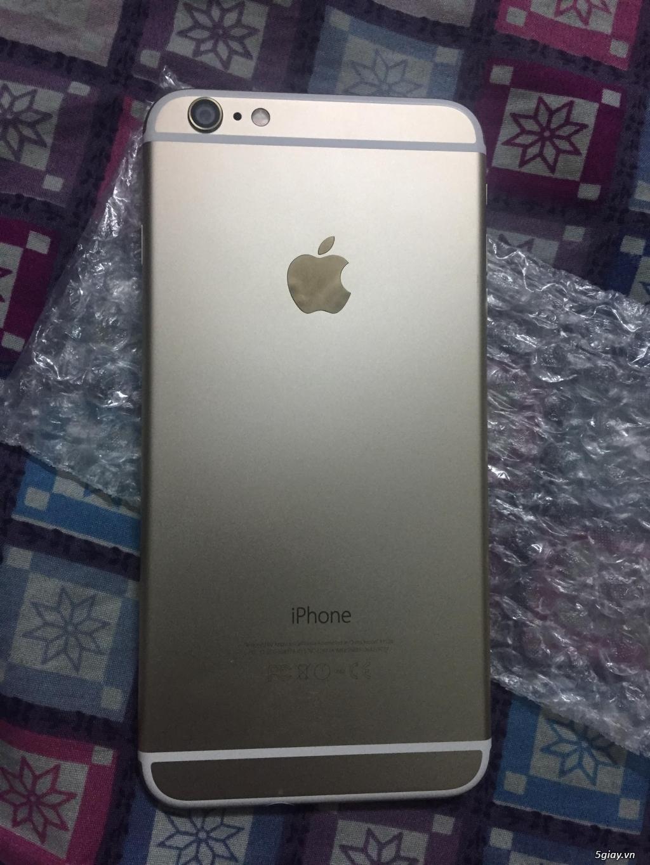iphone 6 plus 64gb màu gold đẹp long lanh pin 100% bao test thoải mái - 1