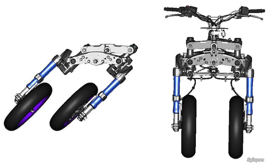 Tìm hiểu mô tô 3 bánh Yamaha Niken giá 415 triệu - 3