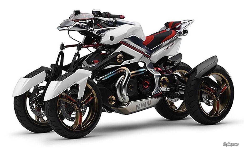 Tìm hiểu mô tô 3 bánh Yamaha Niken giá 415 triệu