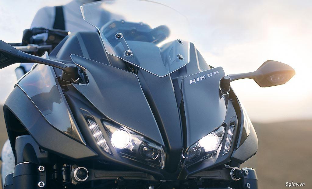 Tìm hiểu mô tô 3 bánh Yamaha Niken giá 415 triệu - 13