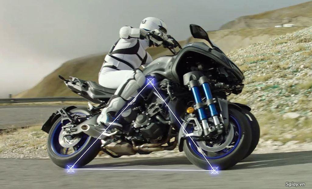 Tìm hiểu mô tô 3 bánh Yamaha Niken giá 415 triệu - 4