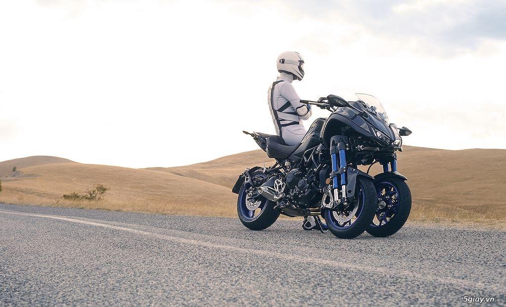 Tìm hiểu mô tô 3 bánh Yamaha Niken giá 415 triệu - 10