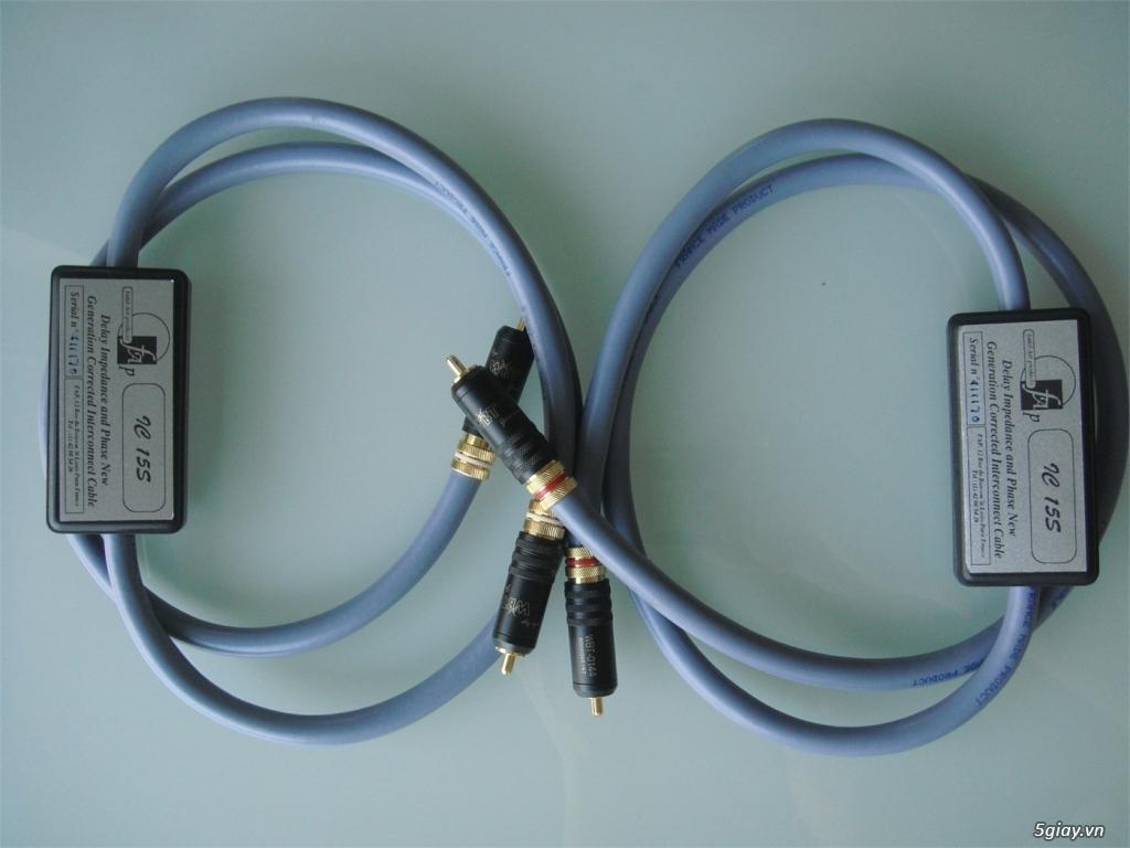 -Bộ dây loa High End Fadel Art The Stream Flex Plus SINGLE-WIRE /WBT-0 - 17