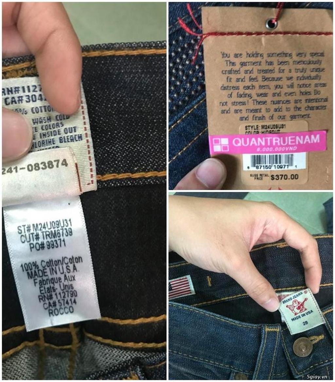 Quần jean si đa ( 2hand ) của các hãng Ông địa , D&G , A/X...  nhập từ USA , Italy ...