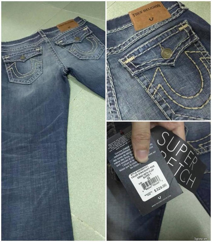 Quần jean si đa ( 2hand ) của các hãng Ông địa , D&G , A/X...  nhập từ USA , Italy ... - 12