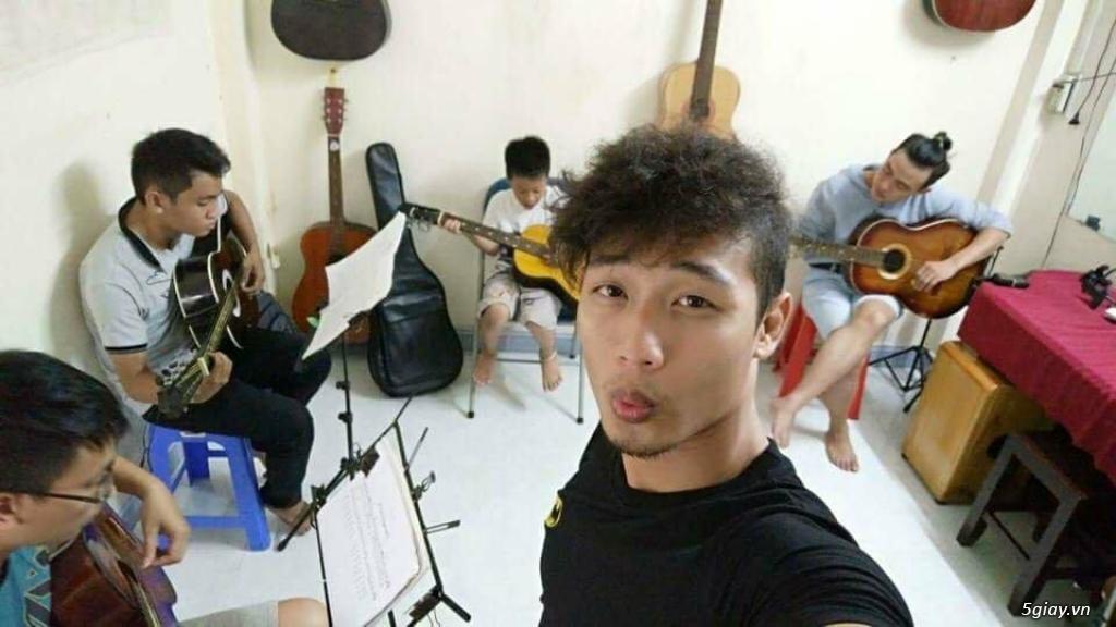 Dạy guitar đệm hát (modern) cơ bản ở Gò Vấp (đặc biệt có dạy và bán guitar tay trái)